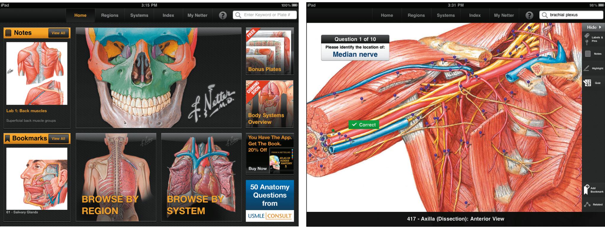 Netters Anatomy Atlas For Ipad Jama Jama Network