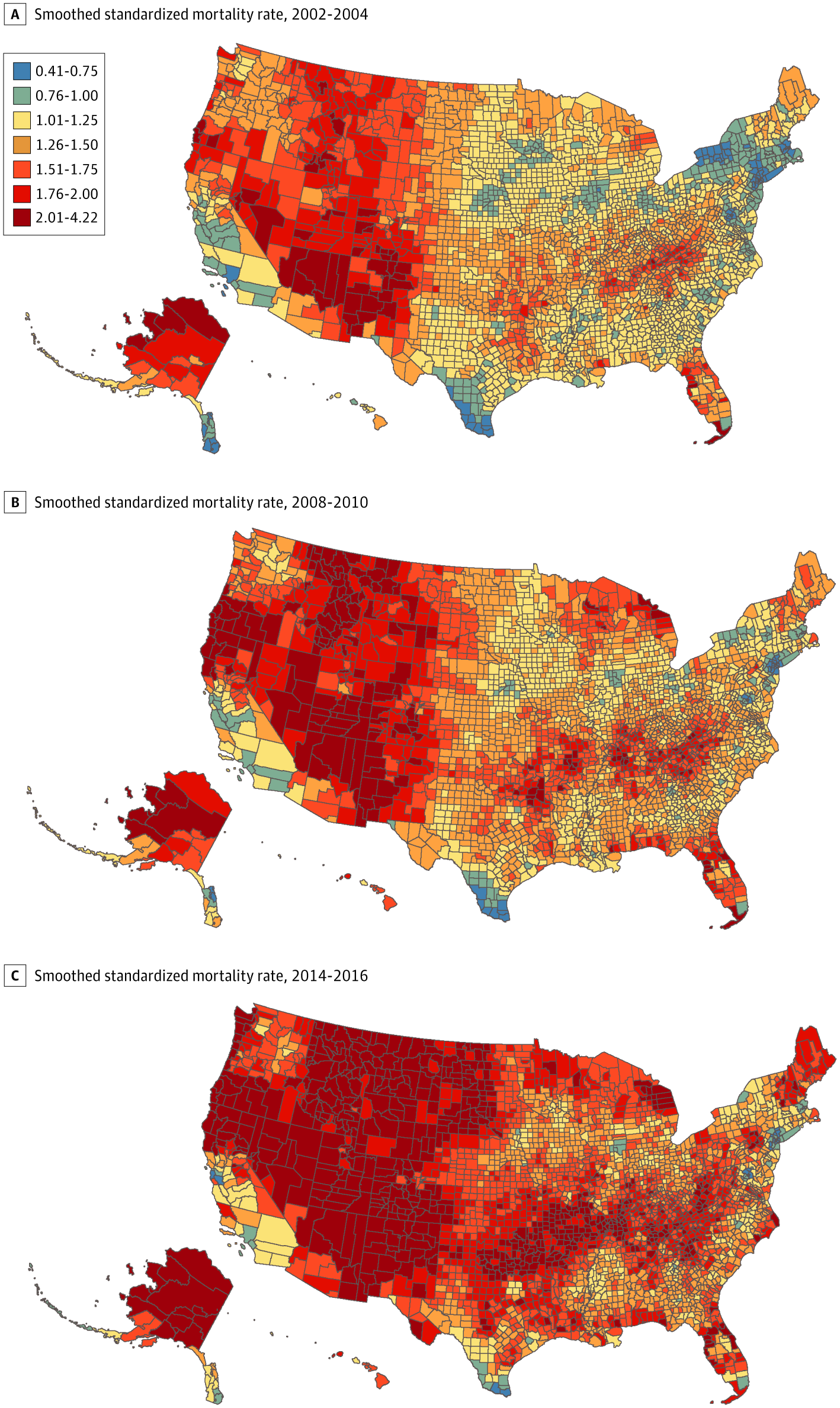 Contextual Factors Associated With County-Level Suicide Rates in the United States