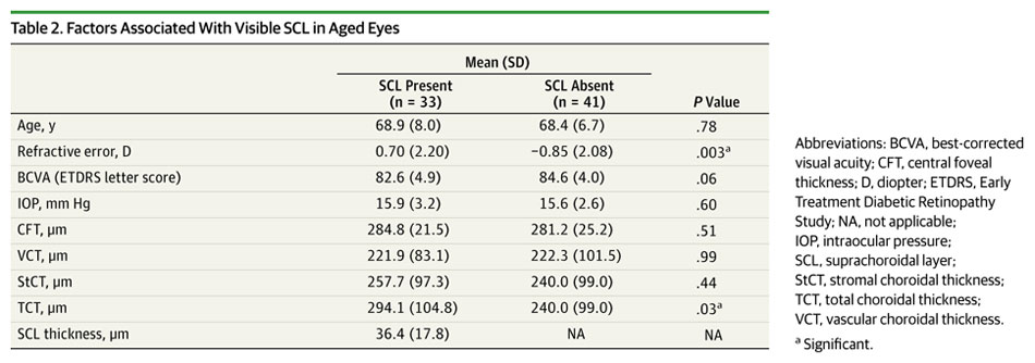 Characterization of the Choroid-Scleral Junction and